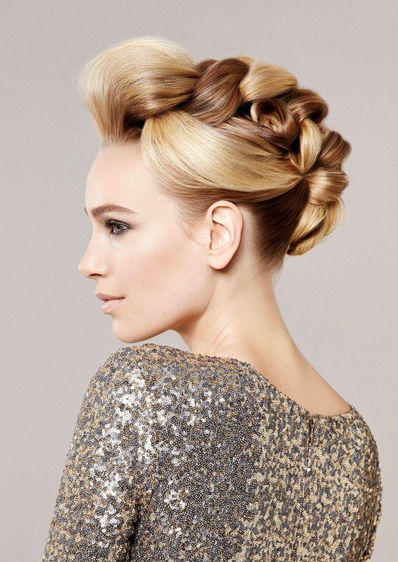 30 Simple updos to make yourself | Hair styles, Trending ...