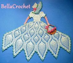 BellaCrochet: Sweet Southern Belle: A Free Crochet Pattern for You!
