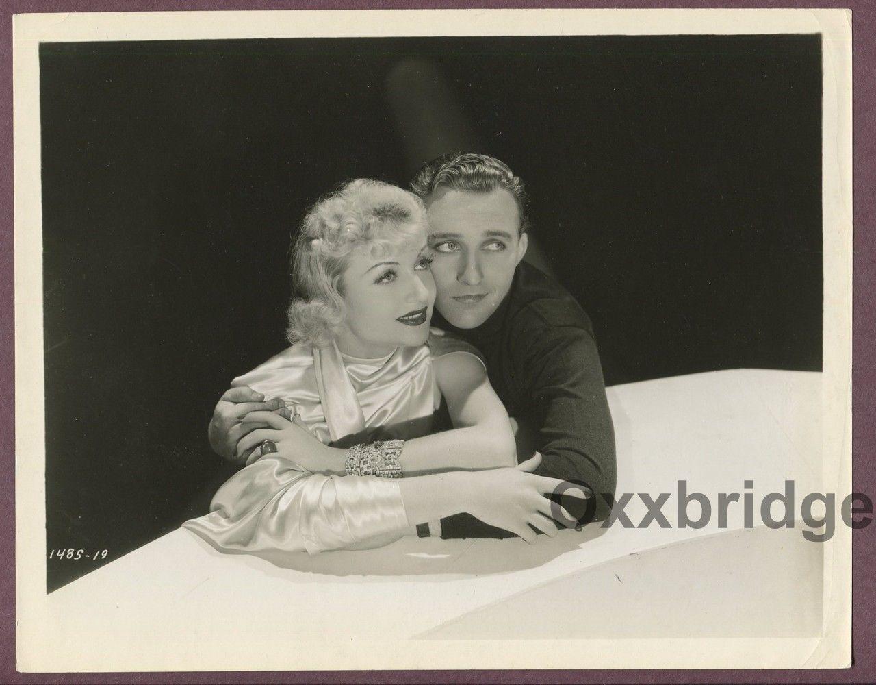 CAROLE LOMBARD Bing Crosby Splendid Romantic Embrace 1934 ORIGINAL Glamour Photo   eBay