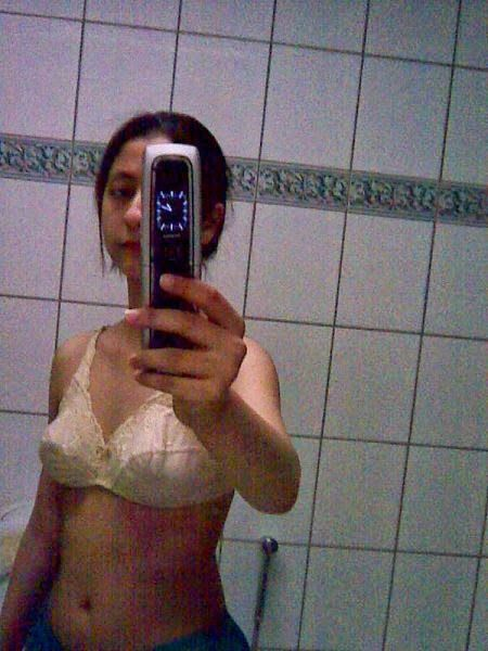 Girl In Bathroom Nude