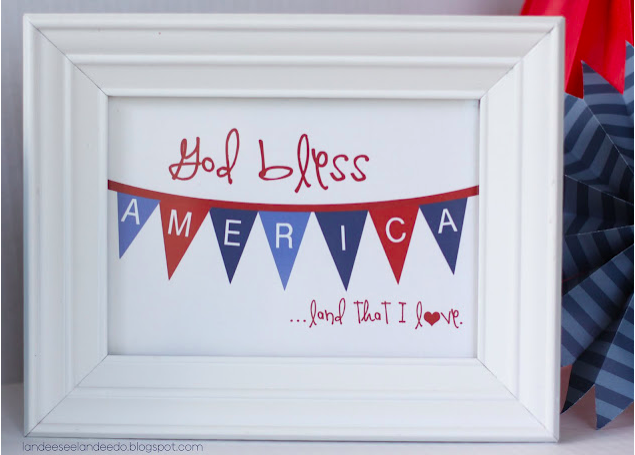 20 Patriotic Printables, Decor, Games, etc.