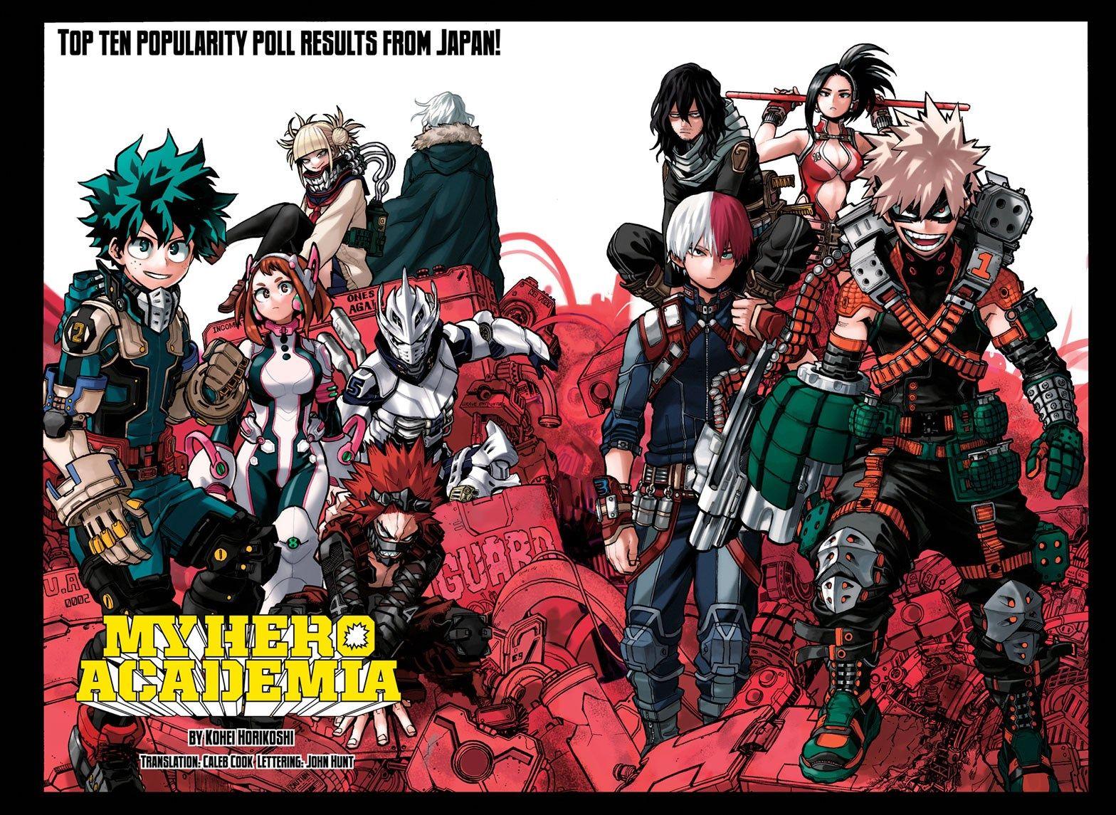 Boku no Hero Academia Chapter 254 in 2020 Boku no hero