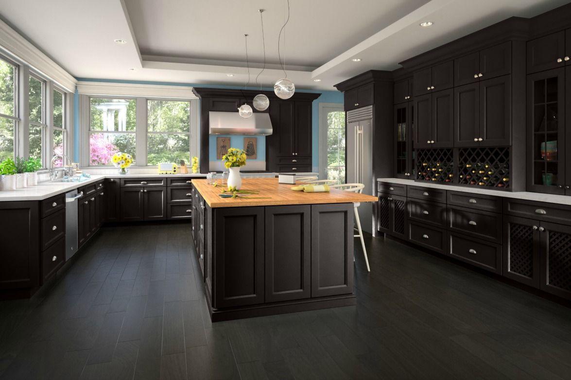 Best Newport Espresso Pre Assembled Kitchen Cabinets The Rta 400 x 300