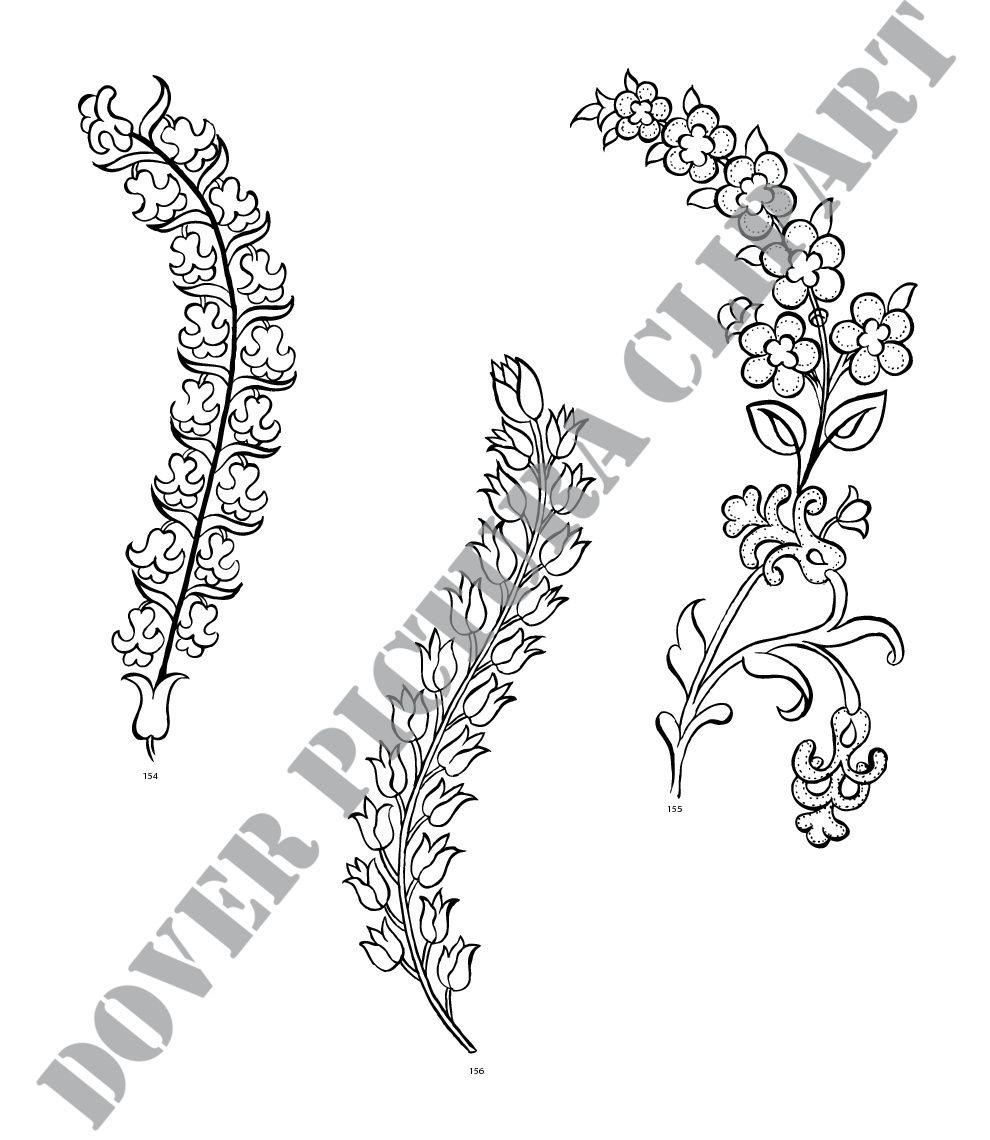 Turkish Vector Motifs | porcelana | Pinterest | Porcelana, Patrones ...