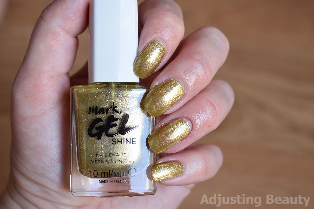 Review Avon Mark Gel Shine Nail Enamel Chrome Golden Eyes Avon Esmalte