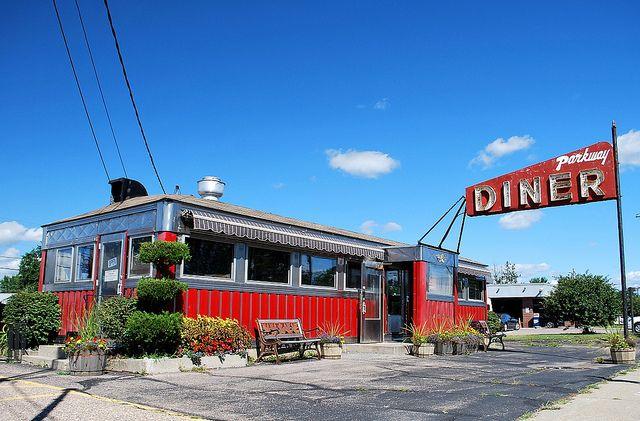 Parkway Diner South Burlington Vt Diner Vintage Diner Diner Restaurant
