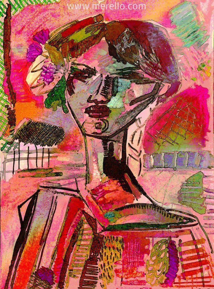 Blumenel Knüpfen moderne peinture l est la meilleure médecine pour éviter la