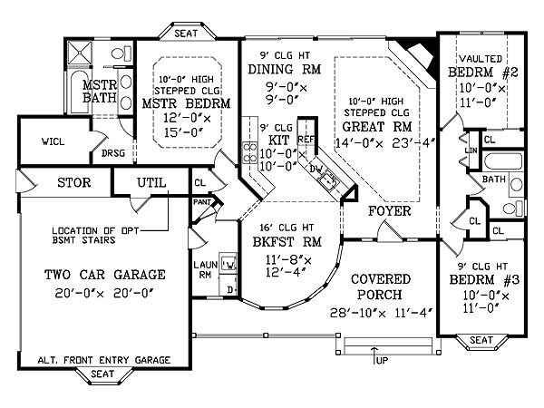 Featured House Plan BHG 2803