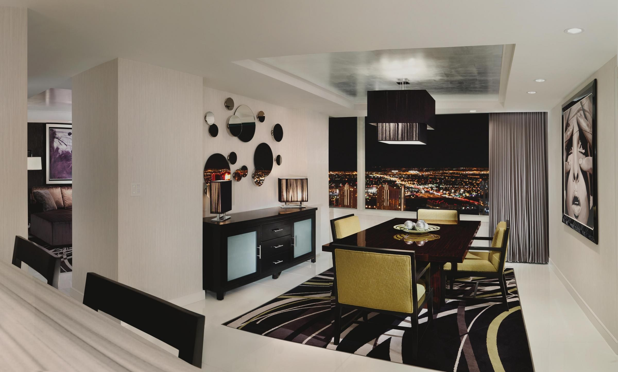 The ARIA Sky Suites' 1 Bedroom Penthouse is your home away