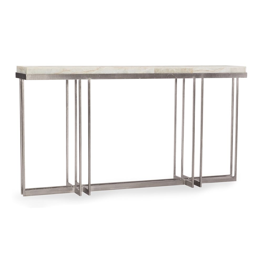 Hooker Furniture Living Room Melange Blaire Console Table At Klopfenstein  Home Rooms At Klopfenstein Home Rooms In Ft.