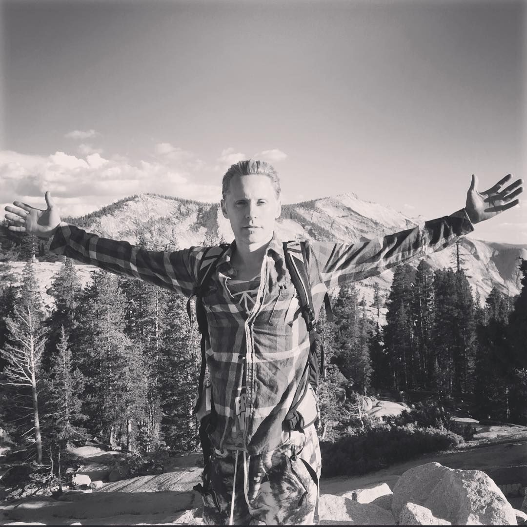 Jaredleto What An Unforgettable Night Solo Jaunt From Tuolomne To Yosemite Valley At Night My Knees Haven T Forgotten Eith Jared Leto Jared Leto Hair Jared