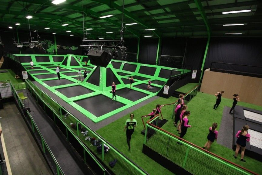 1m Trampoline Arena To Open In Portsmouth Uk