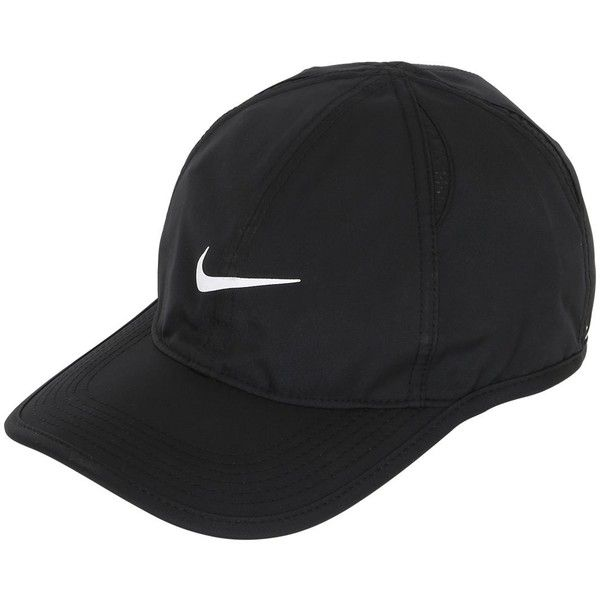 4d60b608216 ... shop nike men feather light logo baseball hat 42 cad liked on polyvore  featuring 5ef76 14eb2