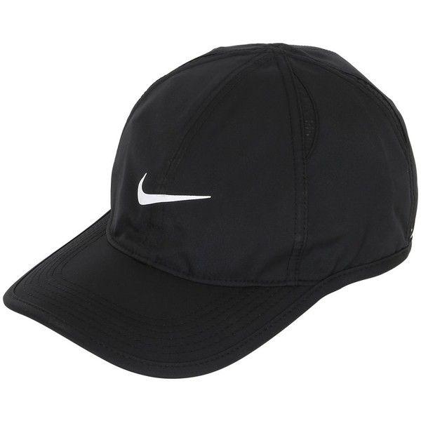 b562cf22aab Baseball Caps · Nike Men Feather Light Logo Baseball Hat ( 33) ❤ liked on  Polyvore featuring men s