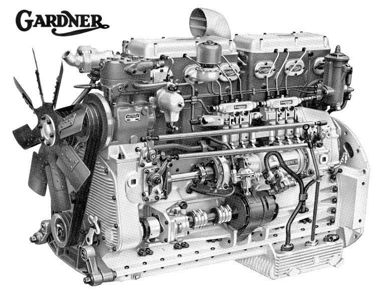 Gardner Diesel Engines Google Search Engineering Diesel Engine Truck Engine