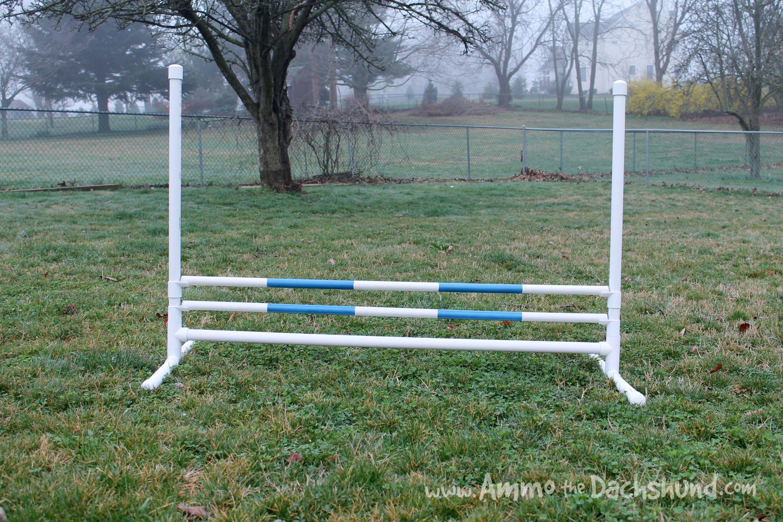 Diy build your own agility jumps diy dog stuff