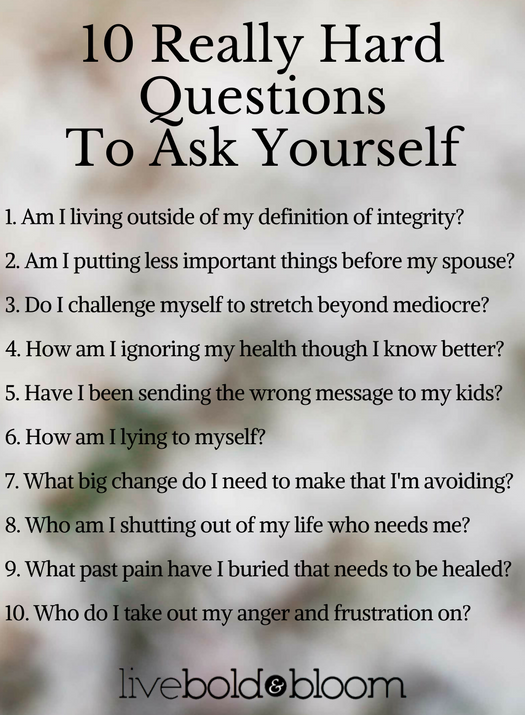 """60 Deep Questions To Ask Yourself To Create """"Aha"""" Moments ..."""