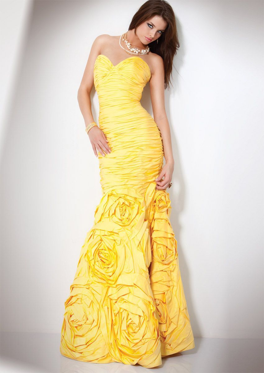99+ Canary Yellow Dresses for Weddings - Best Wedding Dress for Pear ...