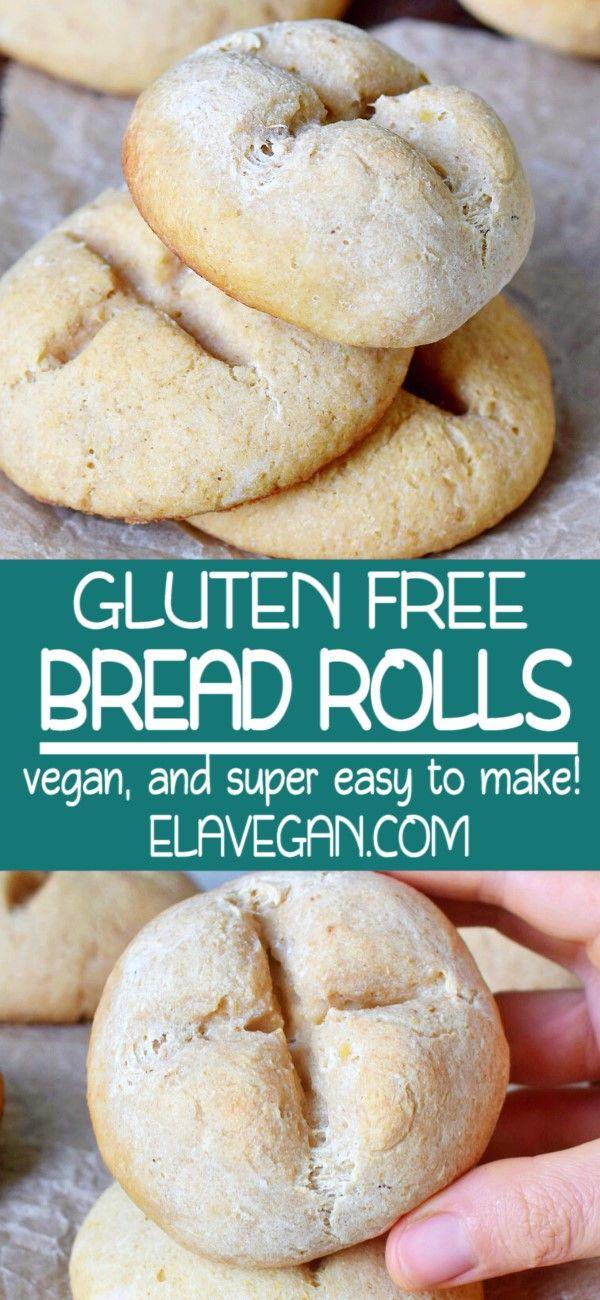 Soft Gluten Free Buns Bread Rolls In 2020 Gluten Free Buns Gluten Free Vegan Bread Gluten Free Yeast Free