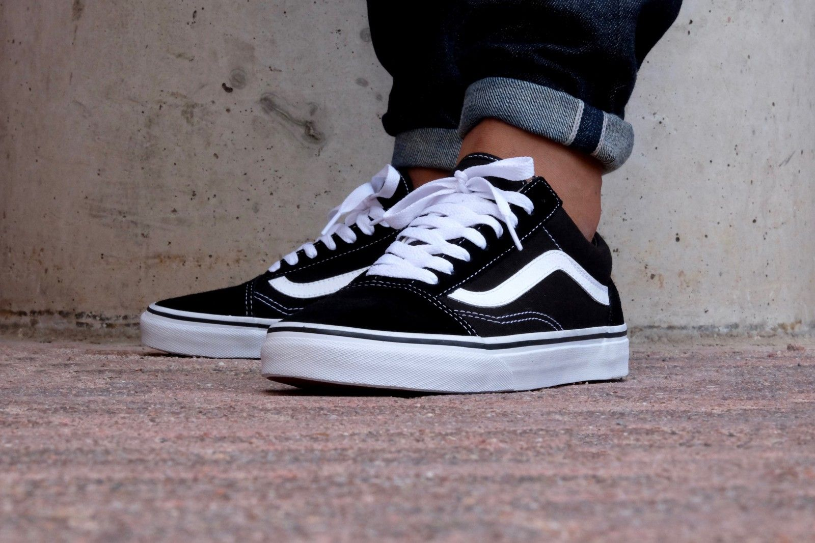 Vans Old Skool Black/White - VN000D3HY28 | Vans schoenen ...