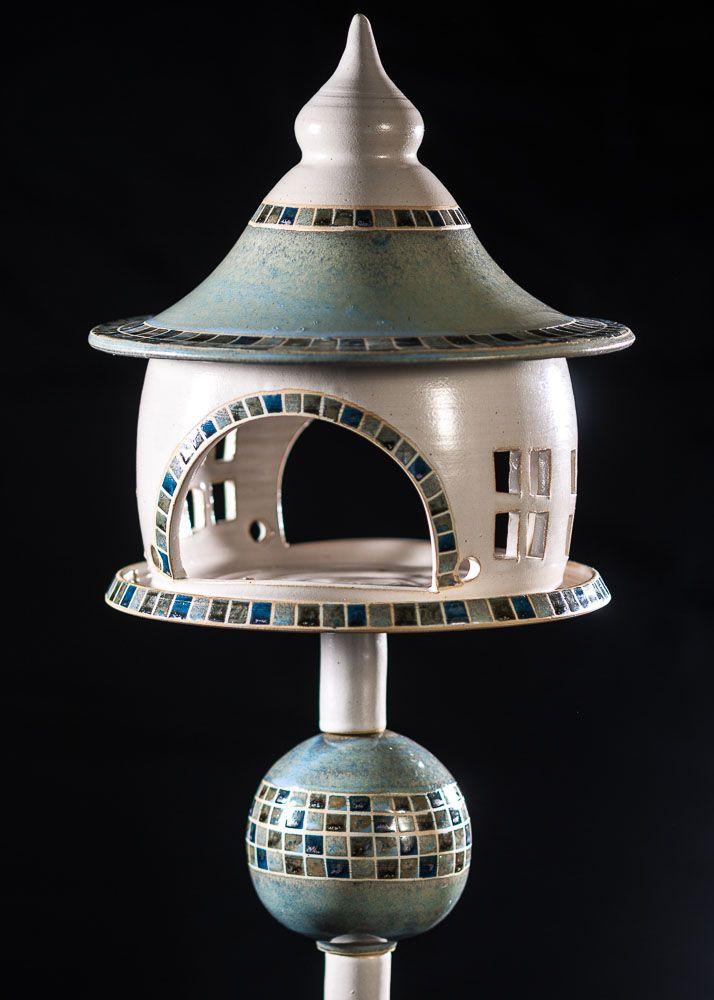 tonicum Keramik Annette Pomp, Lydia Budnick #birdhouses