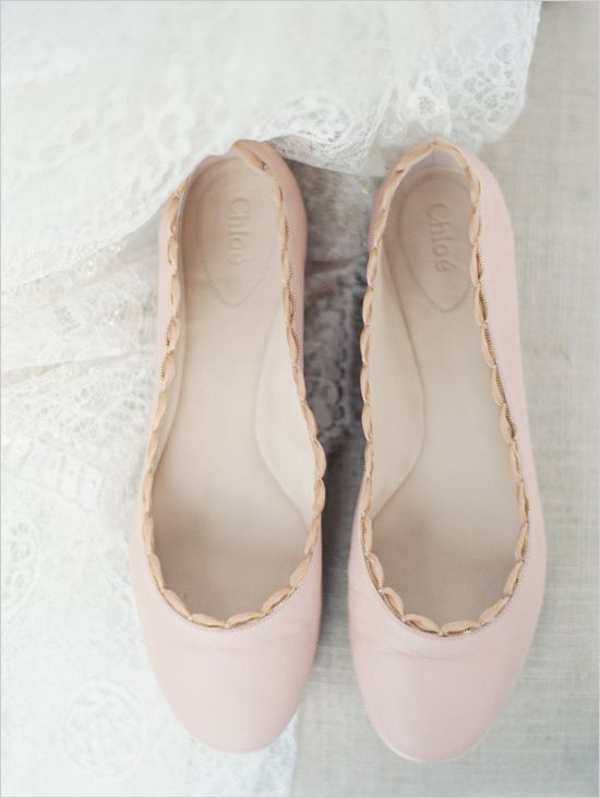 e2b799ebaaf soft pink chloe wedding flats  erichmcveyworkshop  softpink  weddingshoes   chloe http
