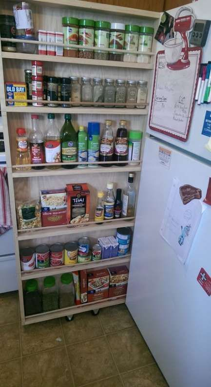 Best 46 Trendy Kitchen Pantry Plans Ana White Pantry 400 x 300