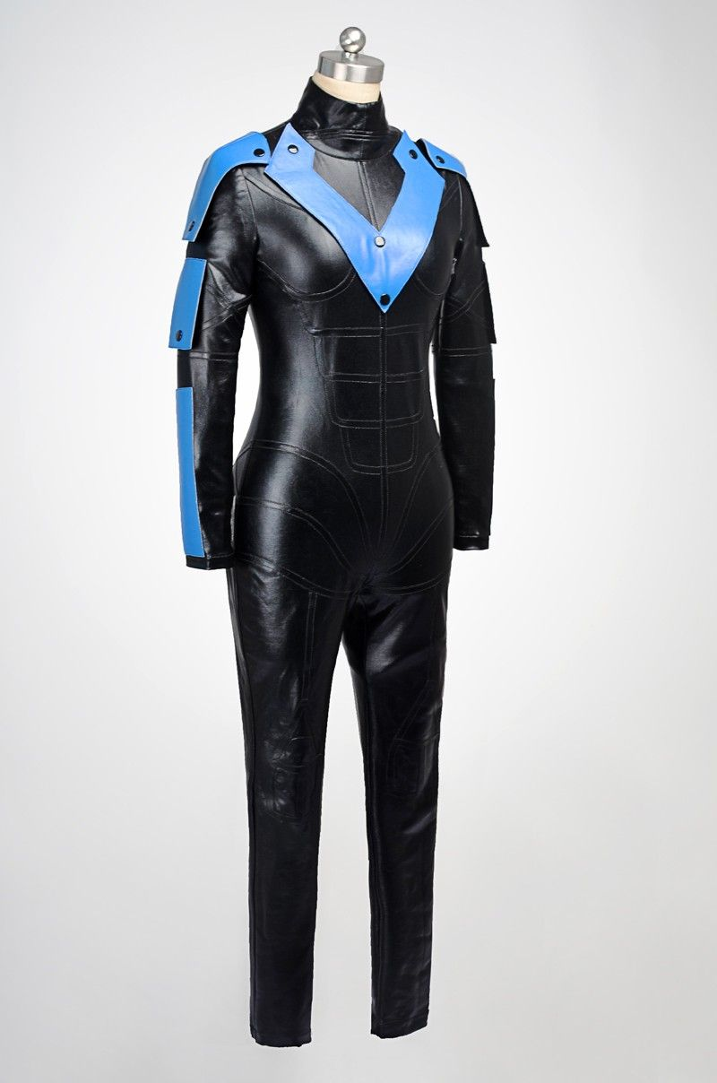 692454498c32 Batman Young Justice Nightwing Cosplay Costumes Female Version ...