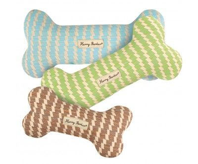Sweetgrass Basket Canvas Bone Dog Toy Dog Toys Durable Dog Toys