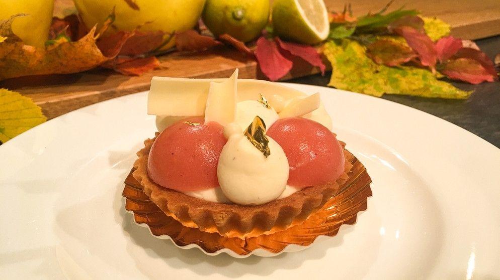 Wir In Bayern Rezepte Vanille Quitten Tartelettes Br De Rezepte Quitten Torte Ohne Backen