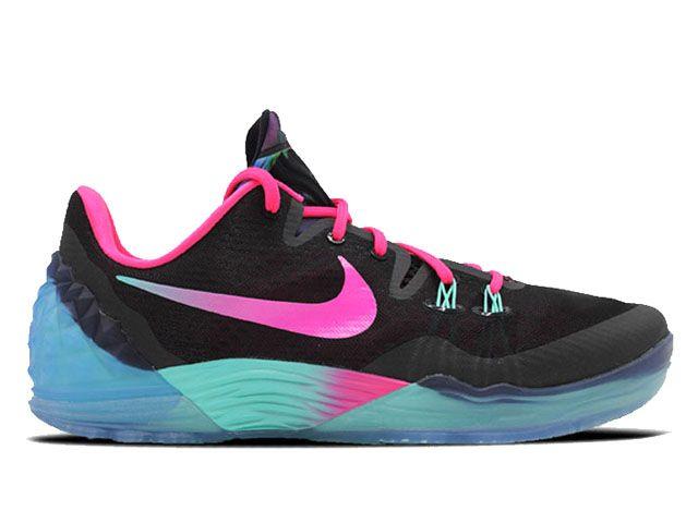 premium selection 08008 3737e Nike Zoom Kobe Venomenon 5 Ep Schwarz Rosa Schuhe