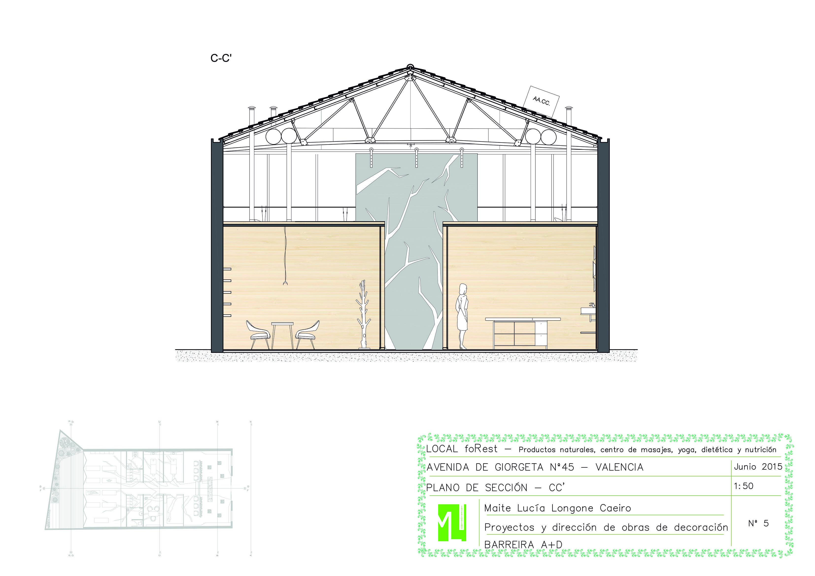 Alumna lucia longone maite asignatura proyecto ii curso for Ciclo superior diseno de interiores