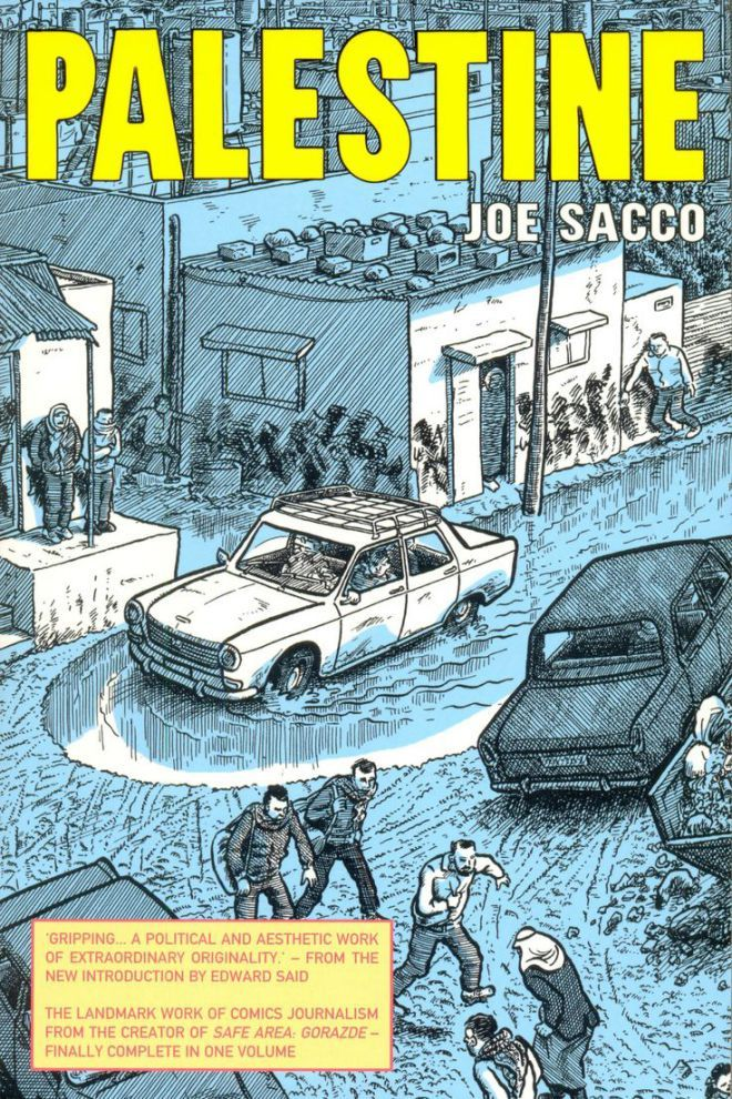 Palestine By Joe Sacco Edward W Said Download The Ebooks