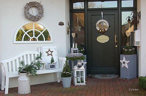 Weihnachtlich dekoriert... - Wohnen und Garten Foto | Dekoideen ...