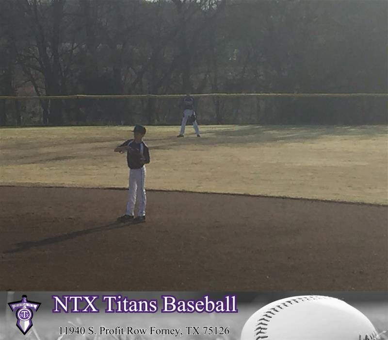 Day 2 Of The 12u Ntx Titans Spring Tournament The Ntx Titans Are Playing At Triple Creek In Mckinney Tx The Ntx Titans Are A Select Baseball Team Based In Fo