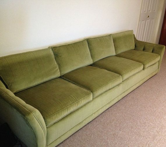 """9 Ft (108"""") Couch/ Mid Century Modern Couch/ Vintage"""