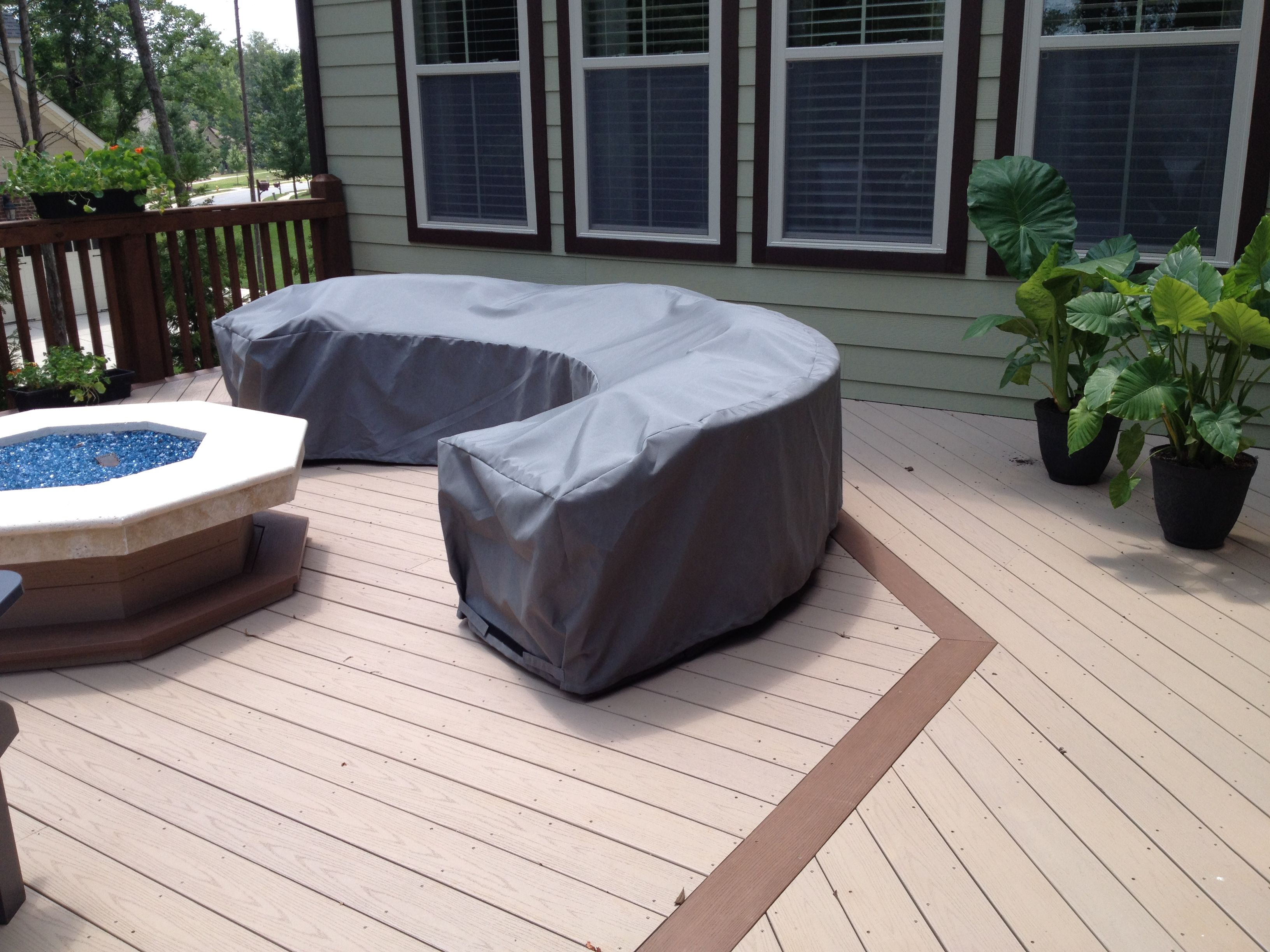 Wicker Furniture Covers Curved Sectional Cover Outdoor Fire Pit And Area Outdoor