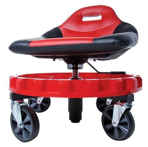 Attirant Mechanics Creeper Seat Rolling Work Stool Tools Garage Auto Shop Mechanic  Chair
