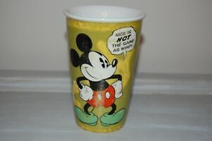 Details about Disney Mickey Mouse coffee mug Since 1928 Nice Is Not The Same As Wimpy #disneycoffeemugs