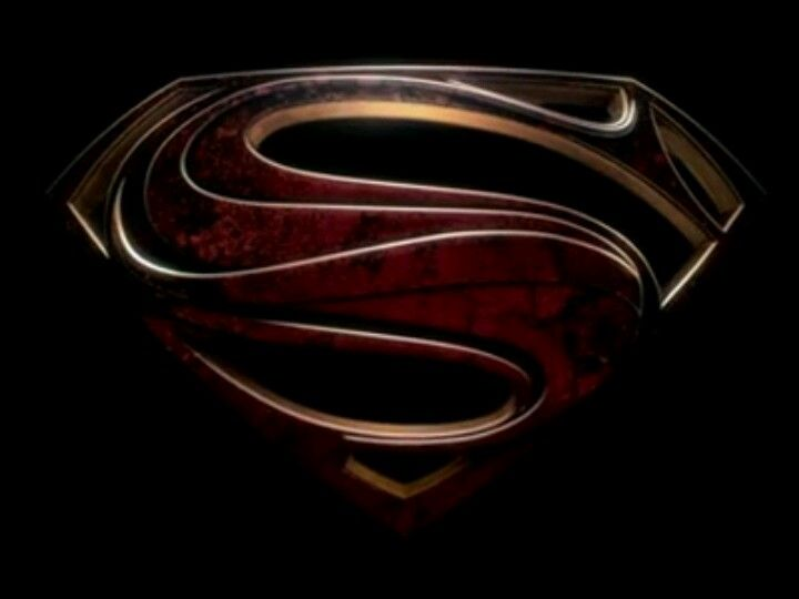 The Superman Logo As Designed For The Man Of Steel Movie Teaser