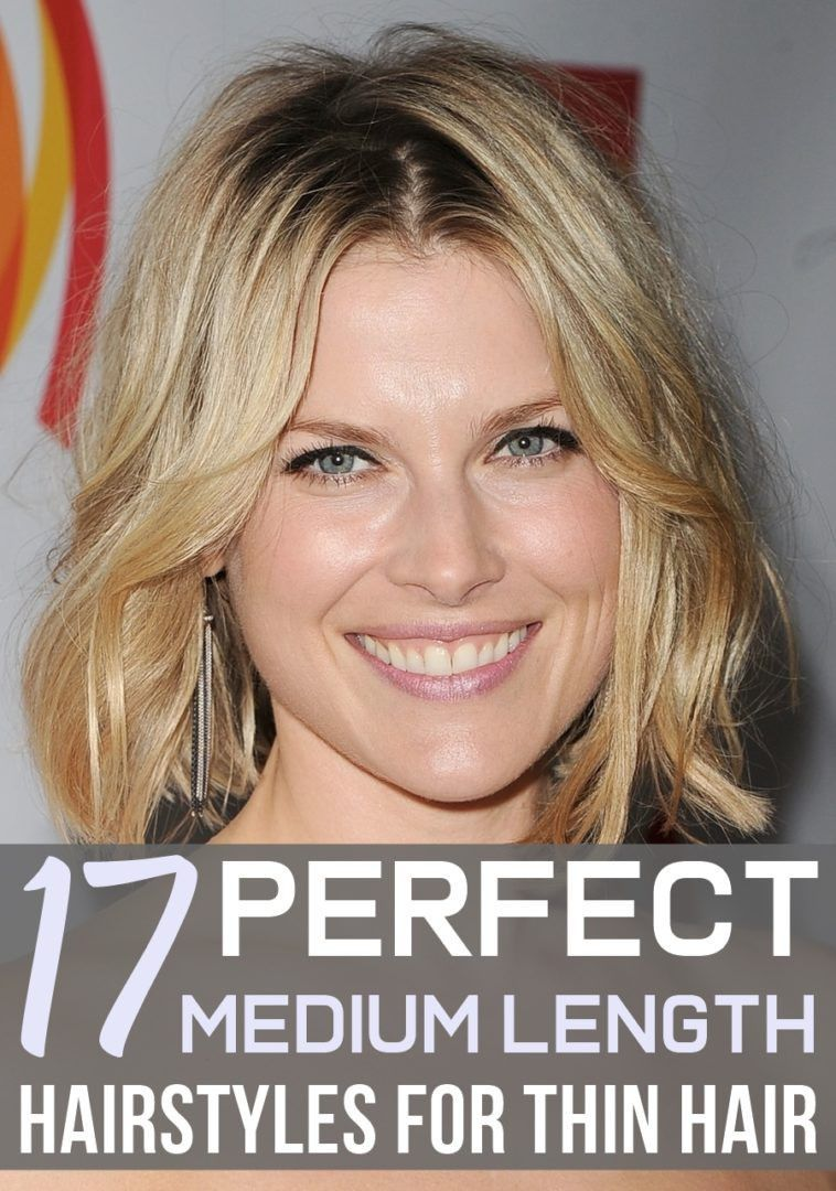 11 Wonderful Perfect Medium Length Hairstyles for Thin Hair 11