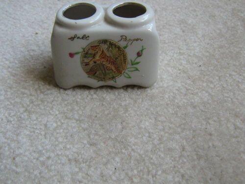 Bensons Wild Animal Farm Souvenir Salt Pepper Holder | eBay
