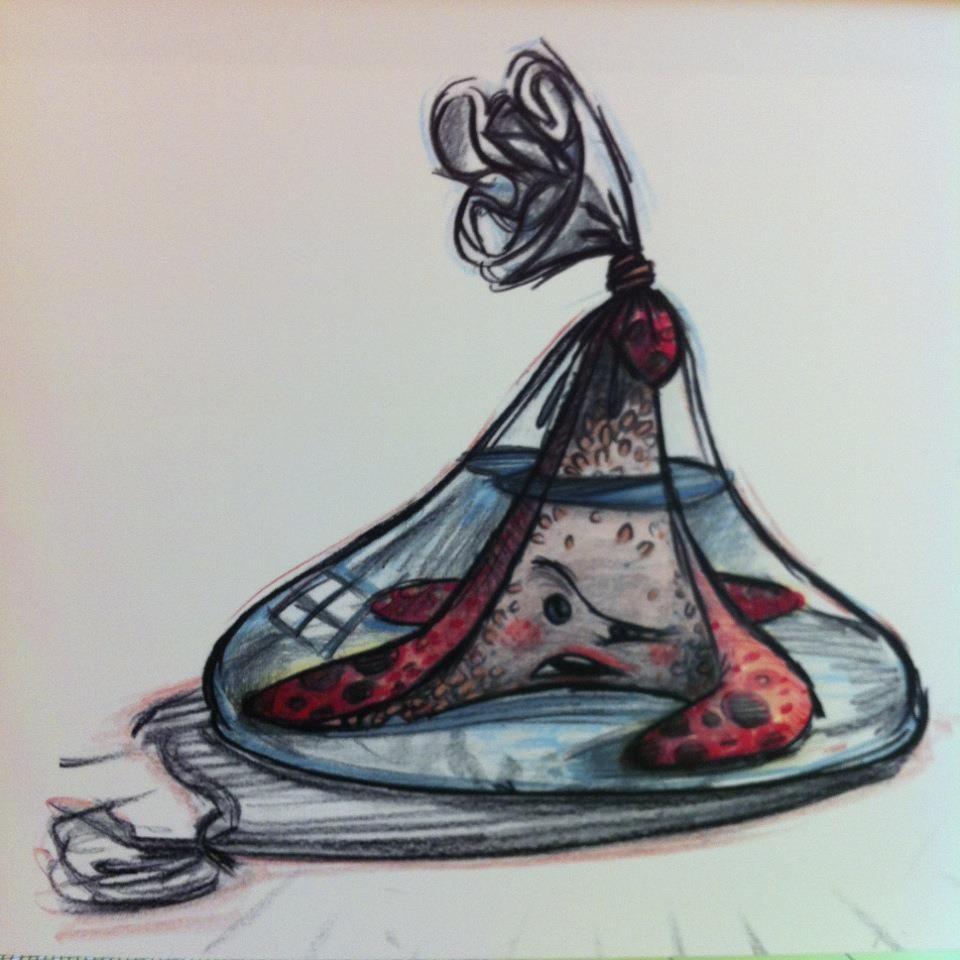 Artwork from disneys art of animation resort disney