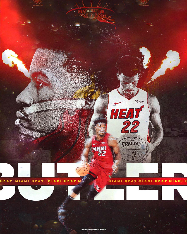 Jimmy Butler Miami Heat On Behance Miami Heat All Nba Players Miami