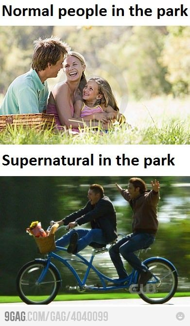 """Honestly, I think I lean more towards """"Supernatural in the park."""" And proud of it."""