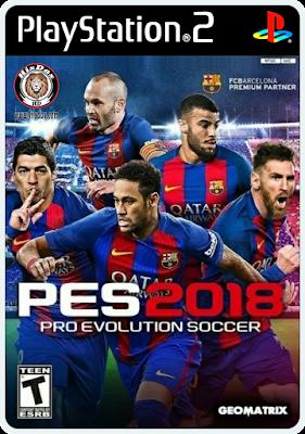 Pes 2018 Ps2 Iso Español Latino Ntsc Pal No Es Una Versión Oficial Es Un Parche Que Actualiza Las Plantillas L Evolução Do Futebol Jogos De Futebol Jogos