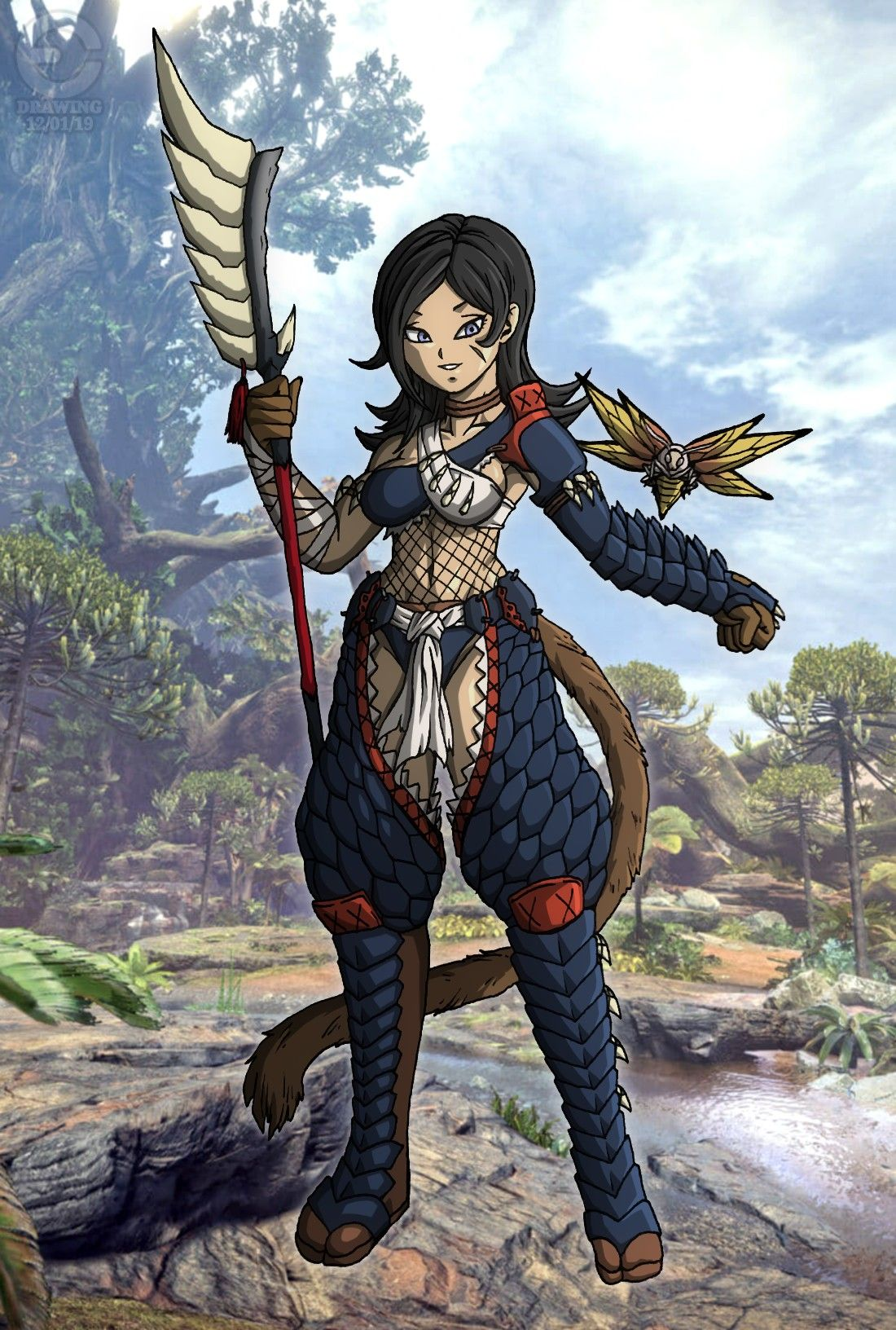 Glaive Hunter Celosia (Monster Hunter Crossover) [2/2