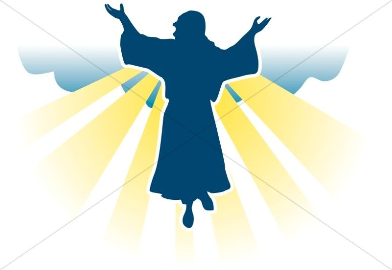 Pictures of Jesus Clipart | Ascension day, Clip art, Jesus pictures