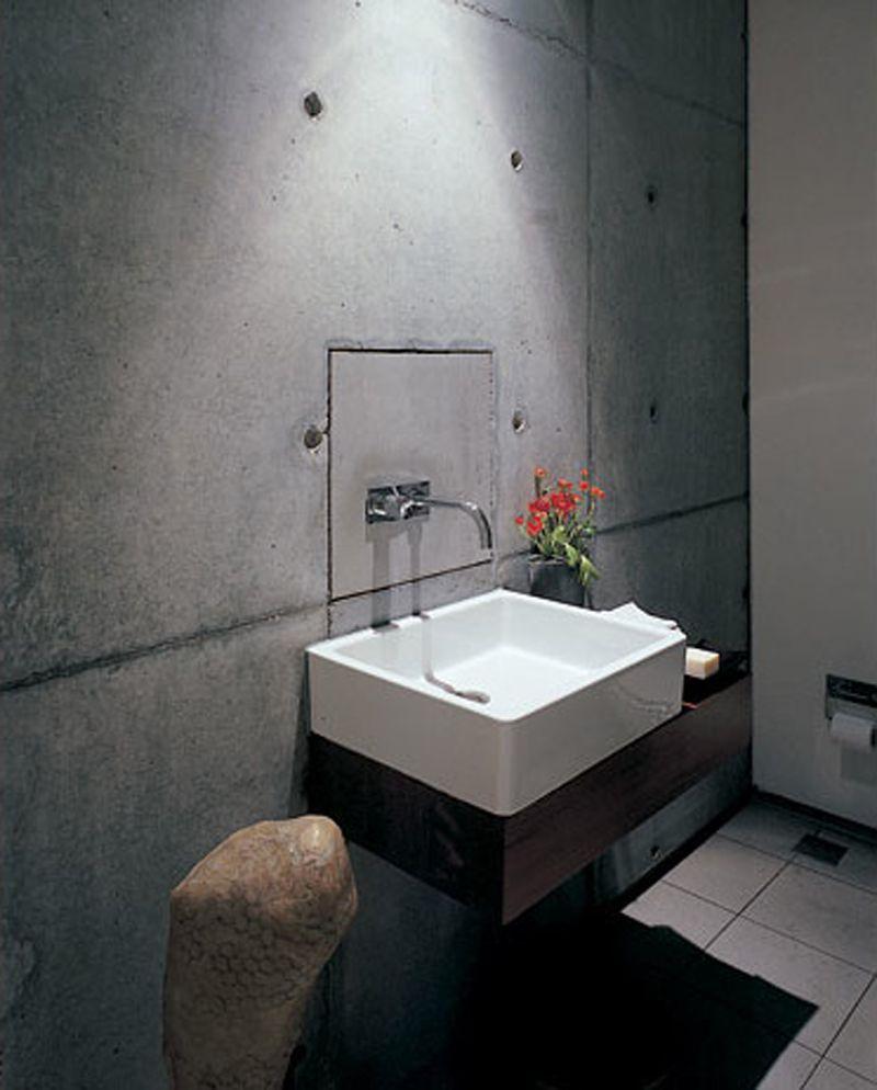 Concrete Bathroom Floor: 28 Best Concrete Bathroom Design Ideas