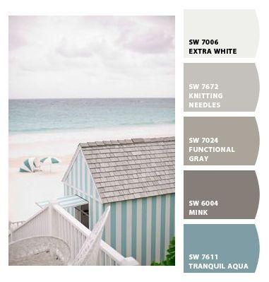 Beachy Color hues | Coastal Decorating | Pinterest | Color ...